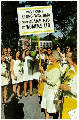 womens lib 1970s Womens Liberation Movement in photos
