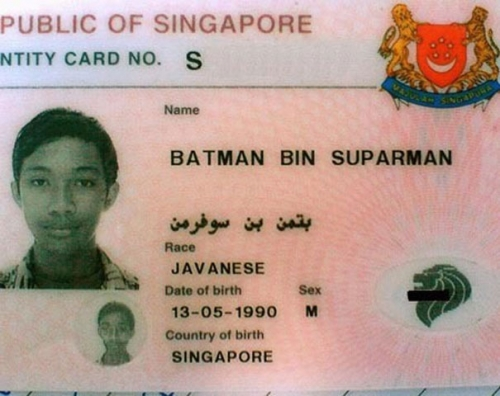 batman Parents name their child Hashtag Jameson
