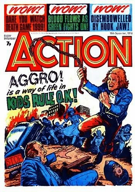 1 aggro Nightmare On Fleet Street: Action And Battle In The Comic Books