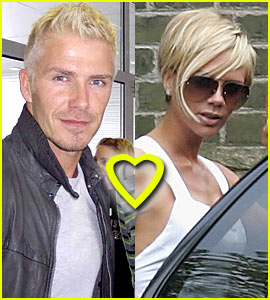 Anorak News David Beckhams New Bleached Hair Picture