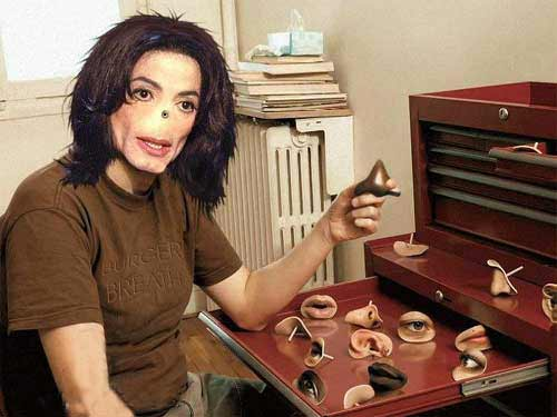 FANCY one of Michael Jackson's sex toys or his portrait of naked ...
