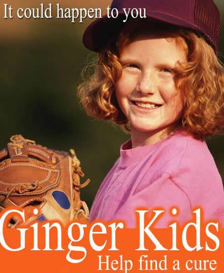 ginger kids Is It Cos I Is Ginger? Sarah Prinner Sees Red