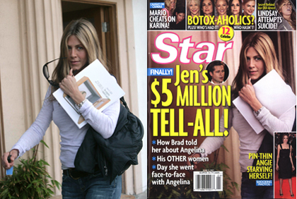 jennfier aniston airbrushed Jennifer Anistons Star Magazine Airbrush