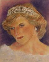 princess diana painting.thumbnail Princess Diana Inquest Day 3653 AD (After Diana): Pap Sans Frontières