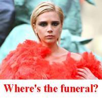 victoria beckham funeral.thumbnail Princess Diana Inquest Day 3631 AD (After Diana): A Beckham In Paris