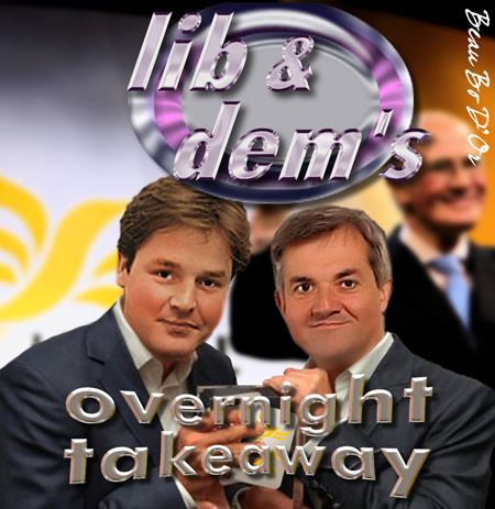 ant and dec huhne clegg Nick Clegg Has No ID