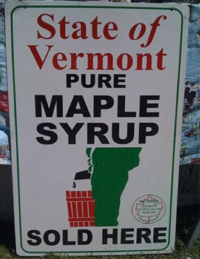 vermont syrup State Of Vermont Says Its Maple Syrup Takes Like Urine (Photo)