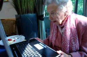 44 grandma computer 300x199 NHS Wants You To Skype Gran in Hospital, is Google + Next for the Infirm?