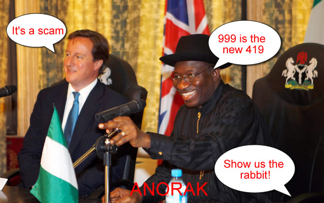 cameron goodluck David Cameran Talks Corruption With Goodluck Jonathan