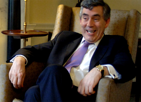 gordon brown2 Gordon Brown Wakes From Rebekah Brooks Slumber Party To Seek Revenge Over Rupert Murdochs Times, Sky And Sun 