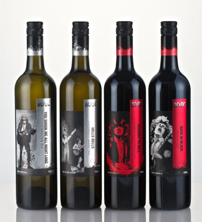 acdcwine2 AC DC Introduce Range Of Highway To Hangover Wines