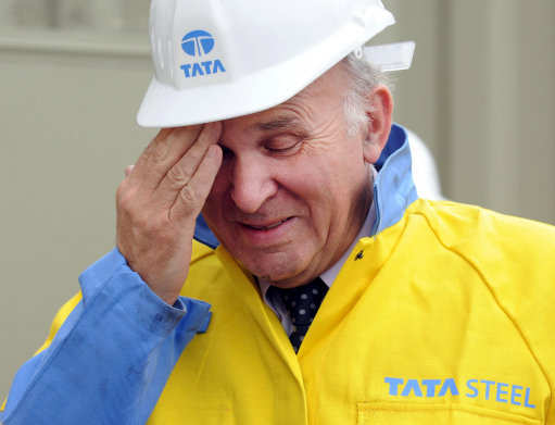 tata Blithering Stupidity From Vince Cable