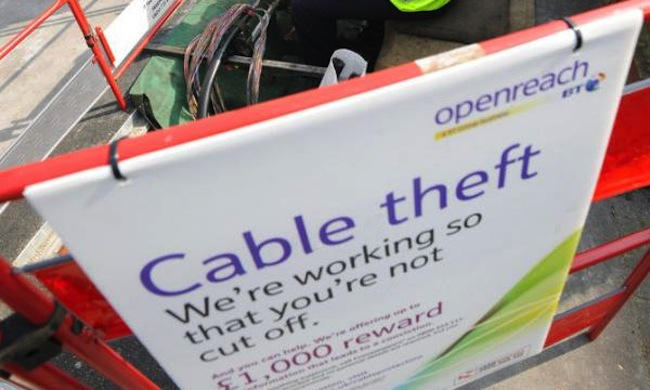 BT copper BTs worth more as scrap copper than it is as a telecoms company