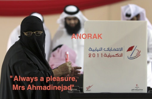 bahrain news Bahrain Election Photo Provides The Greatest Associated Press Caption Ever