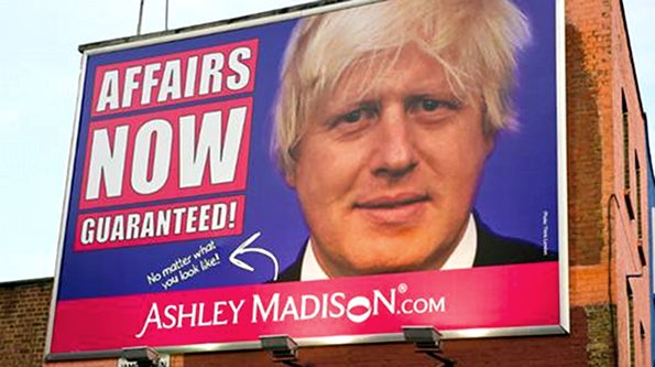 boris johnson Boris Johnsons Face Promotes Sex Cheats Website