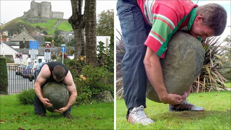 anorak news hughes brothers lift the criccieth feat stone