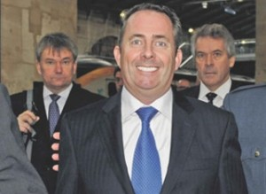 dr liam fox 300x219 Dr Liam Fox Poses For The Greatest Photo Ever