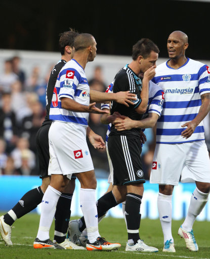 john terry racism Chelseas John Terry Says He Is The Real Victim Of QPR Abuse: Anton Ferdinand Might Wonder