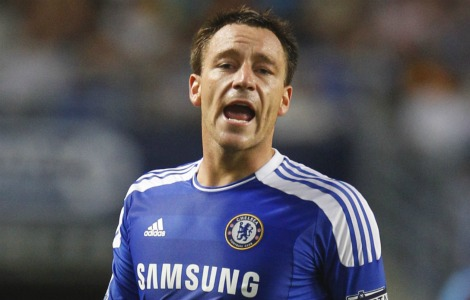 john terry John Terry Racism Row: Chelseas Andre Villas Boas And Arsenals Wenger Are Badly Wrong