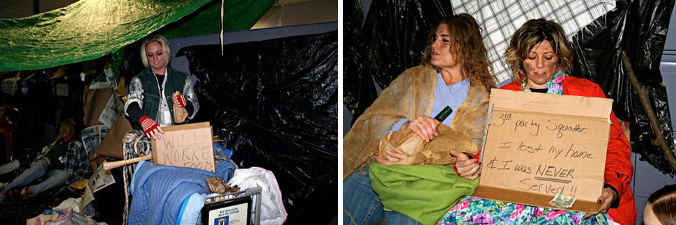 lawyers Foreclosure Law Firm Takes Piss out Of Homeless At Halloween