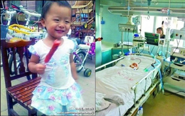 yueyue  RIP Yueyue: Chinese Hit And Run Victim Dies
