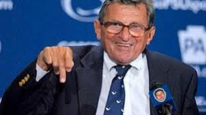Joe Paterno  300x167 Penn States Joe Paterno Covers Up Child Abuse, Students Riot Over Sacking