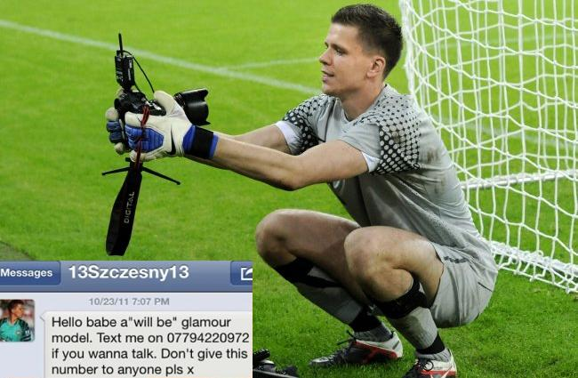 PA 11542698 Arsenals Wojciech Szczesny Fails To Seduce Elite Glamour Model Letesha Collins On Twitter