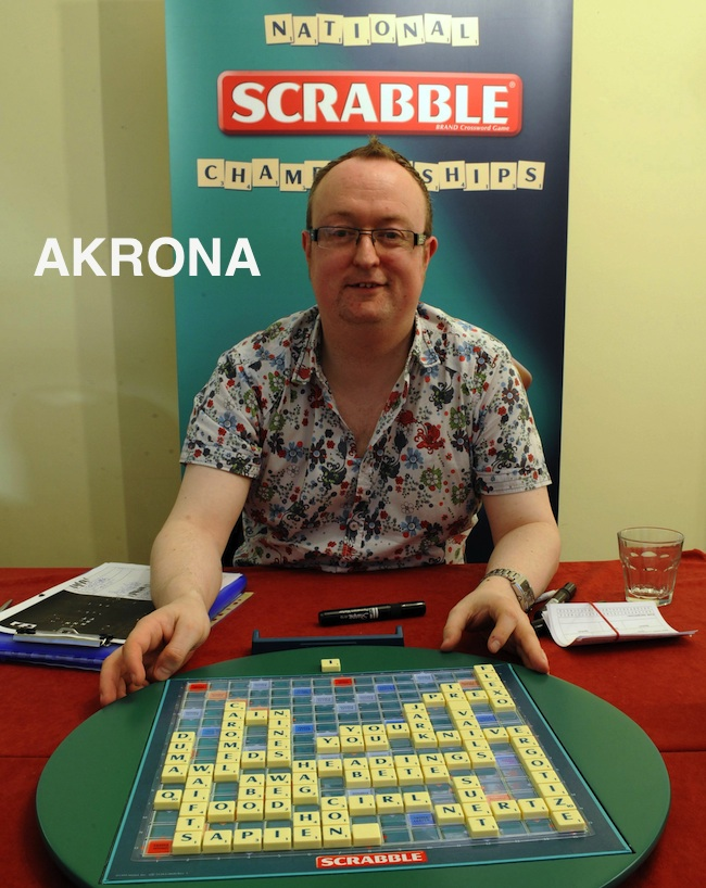 PA 12013897 Wayne Kelly Wins National National Scrabble Championships With Caromel Travails