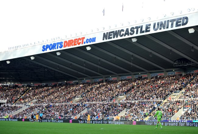 PA 12016373 Newcastle United Now Trading As Millets Theatre of Dreams: Players Get New Fleecy Kits