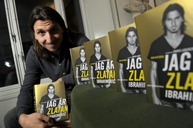 Zlatan1 Zlatan Ibrahimovics Book Is A Barcelona Hating Self Aggrandising Joy