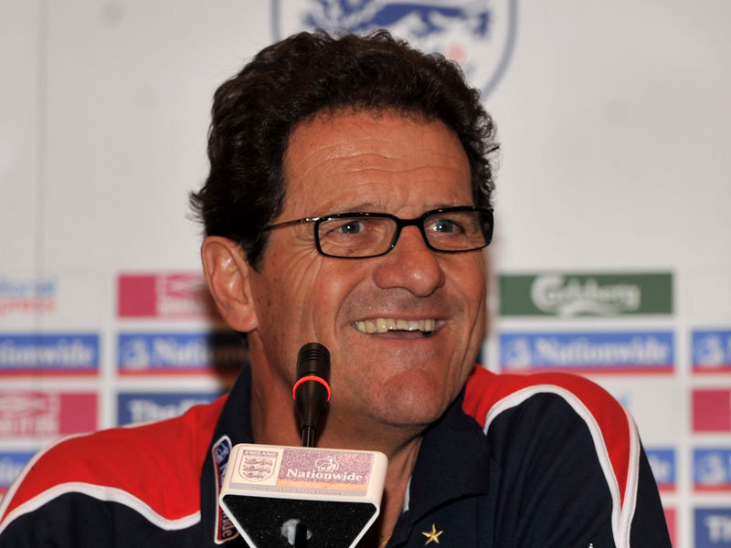 capello laughs Fabio Capello To Be Paid By The Joke: England Fans Get Laughometer (Oliver Holt Roasts Steve Howard)