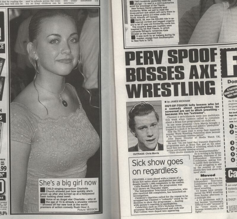 charlotte church Leveson Inquiry: Charlotte Churchs 15 Year Old Breasts And Chris Jefferies Hair