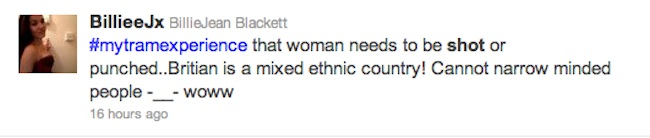 twitter racism croydon Is Emma West A Victim Of A Twitter Hunt? Tweeters Want My Tram Experience Woman Raped, Shot And Knifed
