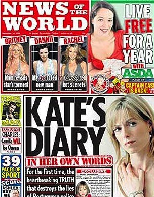 Kate McCann diary Madeleine McCann: When Hush Money Becomes A Donation