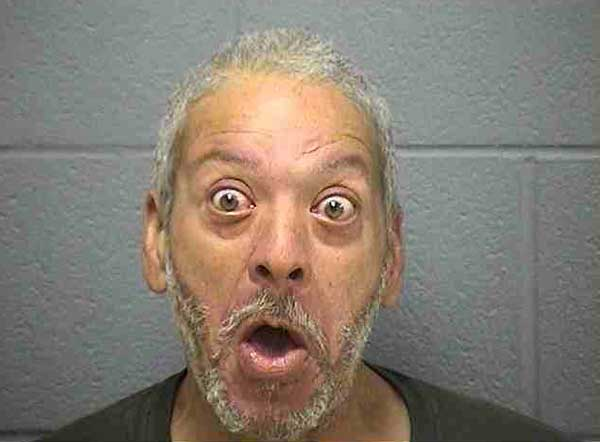 Andrei Bibbs Mug Shot of the day   Andrei Bibbs is surprised
