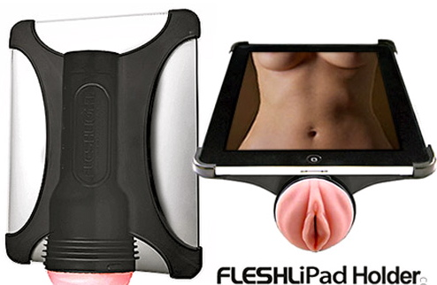 fleshlight ipad The Fleshlight ipad holder lets you have sex with your apple gadget