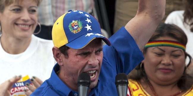 PA 12638207 Chavez reaches for the old anti Semitism to slam Henrique Capriles Radonski