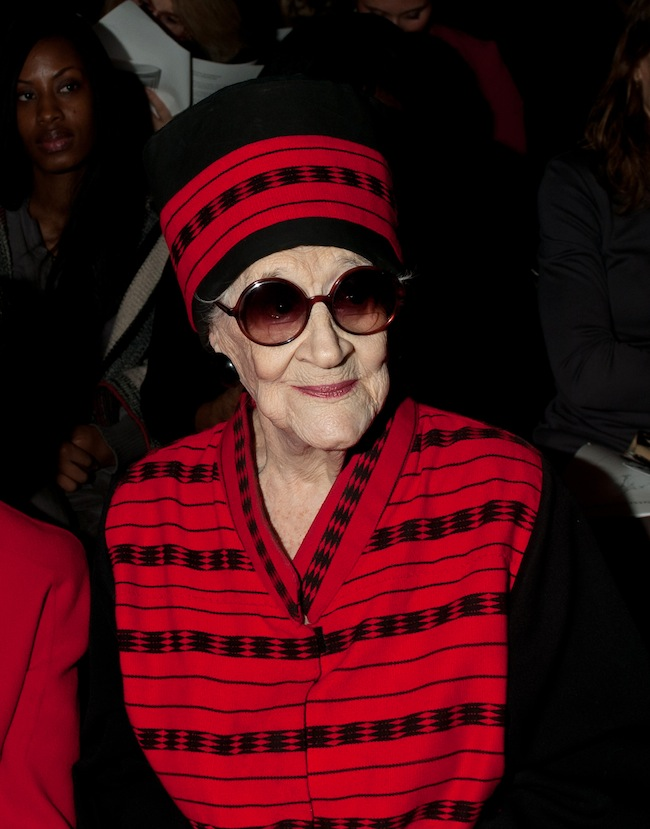 PA 12788935 Zelda Kaplan RIP: fashionista dies with style at NY Fashion Week
