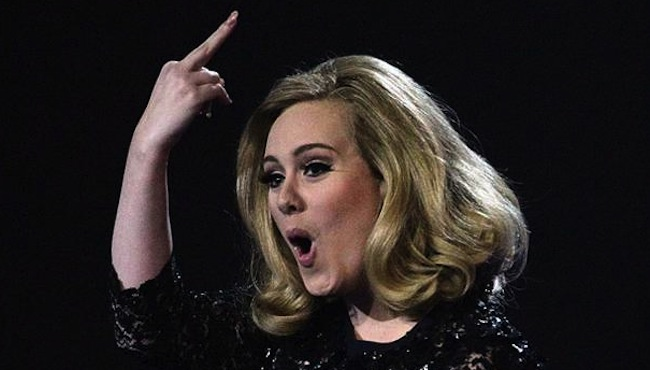 Adele presents the Top 10 Showbiz Fingers Ever
