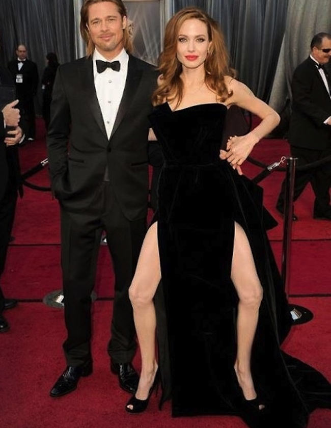 angelina jolie right leg Angelina Jolies right leg is a meme   photos