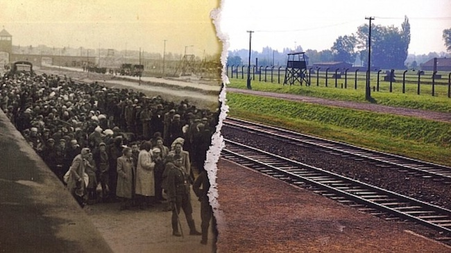 aushtwitz Auschwitz Birkenau   Then and now in photos
