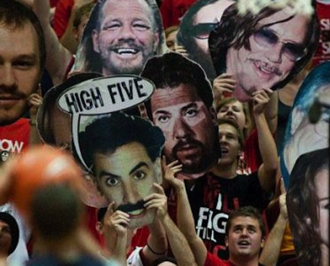 basketball faces 8 Basketballs big heads: a gallery of a sporting craze