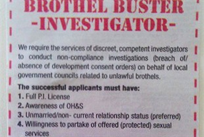 brothel find a sex partner Western Australia