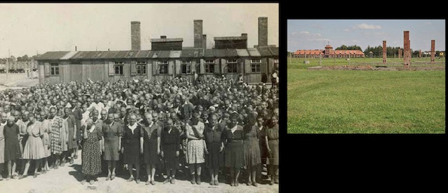 germans killers Auschwitz Birkenau   Then and now in photos