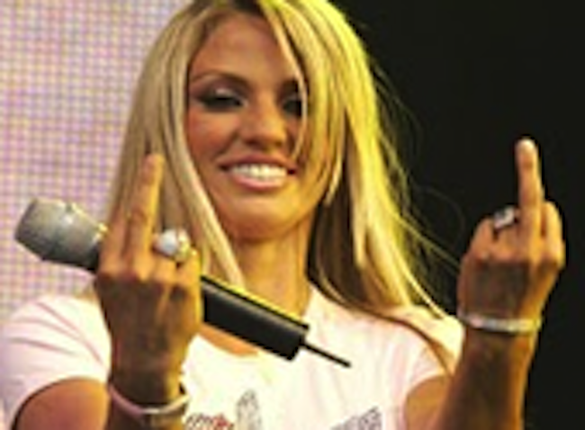katie price apprentice Adele presents the Top 10 Showbiz Fingers Ever