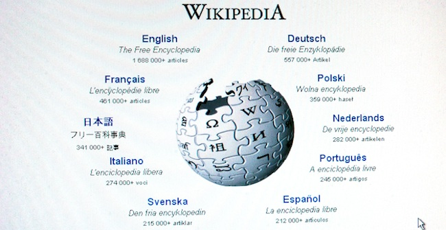 wikipedia truth Wikipedia rejects expert and keeps the untruth