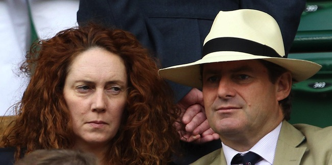 PA 13038539 Rebekah Brooks and Charlie Brooks arrested: the dumped bag mystery