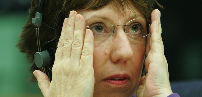 PA 6467249 EU Foreign Minister Cathy Ashton sees bloodthirsty Jews in the Toulouse murders