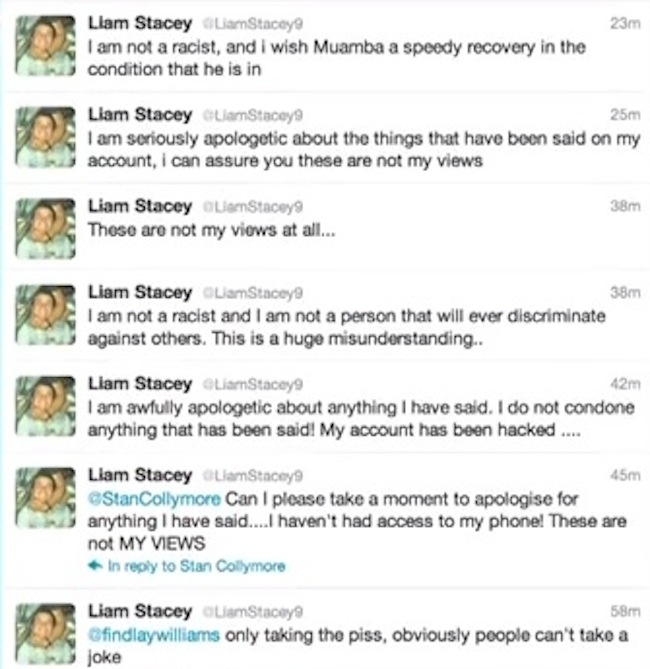 liam stacey Fabrice Muamba alleged troll: Liam Stacey caught by twitters police snitches