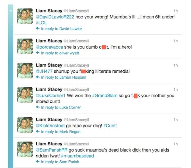 liamstacey91 Liam Stacey gets 56 days prison for racist Fabrice Muamba tweets